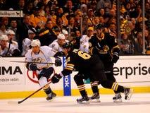 Benoit Pouliot Boston Bruins Fotografía de archivo