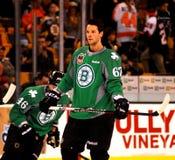 Benoit Pouliot Boston Bruins Imagenes de archivo