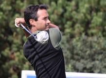 Benoit Teilleria en el golf de abierto París 2009 Imagen de archivo