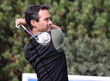 Benoit Teilleria at the Golf Open de Paris 2009 Stock Image