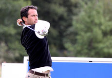 Benoit Teilleria at the Golf Open de Paris 2009 Stock Images