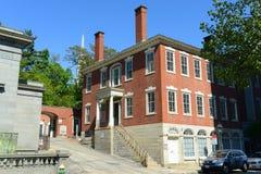 Benoni Cooke House, Voorzienigheid, RI, de V.S. royalty-vrije stock foto