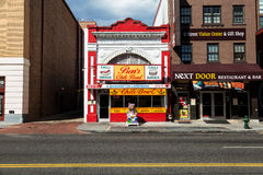 Bens Chili Bowl i Washington D C Royaltyfria Bilder