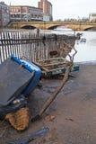Bens danificados inundação Foto de Stock Royalty Free