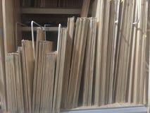Bens de madeira imagem de stock