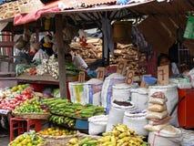 Bens do mercado de Granada Fotos de Stock Royalty Free