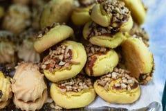 bens doces de uma padaria turca Fotos de Stock
