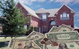 Bens imobiliários Foto de Stock Royalty Free