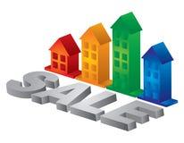 Bens imobiliários Imagens de Stock