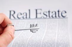 Bens imobiliários Imagens de Stock Royalty Free
