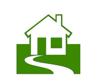 Bens imobiliários/casas imagens de stock