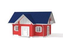 bens imobiliários 3d Imagens de Stock