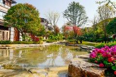 Bens imobiliários de Chongqing foto de stock royalty free