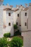 Bens imobiliários de Spain Imagem de Stock