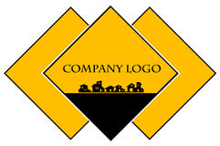 Bens imobiliários - empresa de construção civil Fotografia de Stock