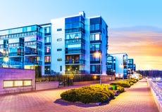 Bens imobiliários modernos Foto de Stock Royalty Free