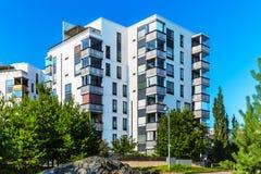 Bens imobiliários modernos Fotografia de Stock Royalty Free