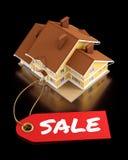 Bens imobiliários para a venda Fotografia de Stock Royalty Free