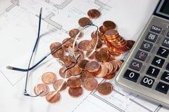 Bens imobiliários que investem o evaluetion Foto de Stock