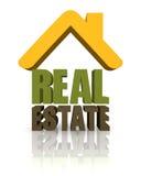 Bens imobiliários Fotos de Stock Royalty Free