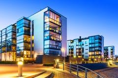 Bens imobiliários modernos Fotografia de Stock