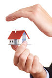 Bens imobiliários seguros Fotos de Stock Royalty Free