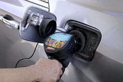 bensin Royaltyfria Foton