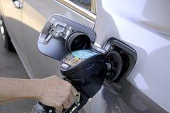 bensin Arkivfoton