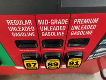 bensin royaltyfri fotografi