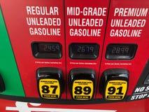bensin arkivfoto