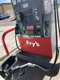 bensin royaltyfria bilder