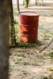 Bensinbehållare Fotografering för Bildbyråer