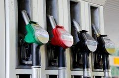 bensinpumpar Arkivfoton