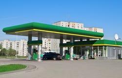 bensinstation Arkivfoton