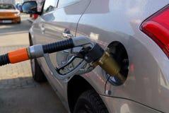 bensinstation Arkivbilder
