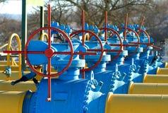 bensinstation 11 Fotografering för Bildbyråer