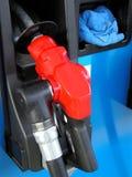 bensinstationhjälpmedel Royaltyfri Bild