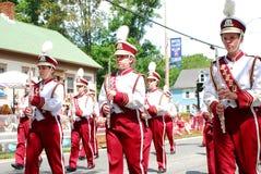 Benson High School Marching Band, Benson, MN Stock Photos