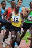 Benson Seurei - 1500 mètres de course Photographie stock