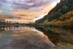 Benson State Recreation Area i nedgång Royaltyfri Fotografi