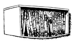 Bent bookshelf. Black and white illustration. Drawn by hand. Isolated on white. Design for card, poster or wallpaper. There is an option in the vector vector illustration