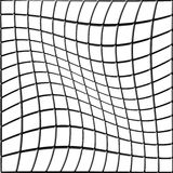 Bent Grid Royalty Free Stock Photo