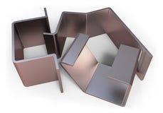 Bent metal parts Stock Photos