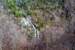 Bent Mountain Falls, la contea di Roanoke, la Virginia, U.S.A. Fotografia Stock Libera da Diritti