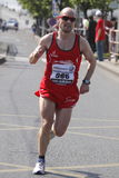 Bent Olsvig during Prague marathon Stock Photo
