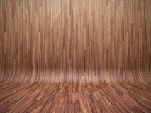 Bent parquet Royalty Free Stock Photography