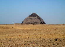 The bent pyramid of Dashur, Egypt Royalty Free Stock Image