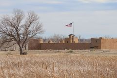 Bent`s Old Fort National Historic Site Stock Images