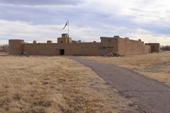 Bent`s Old Fort National Historic Site Royalty Free Stock Photo