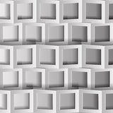 The bent squares Royalty Free Stock Image